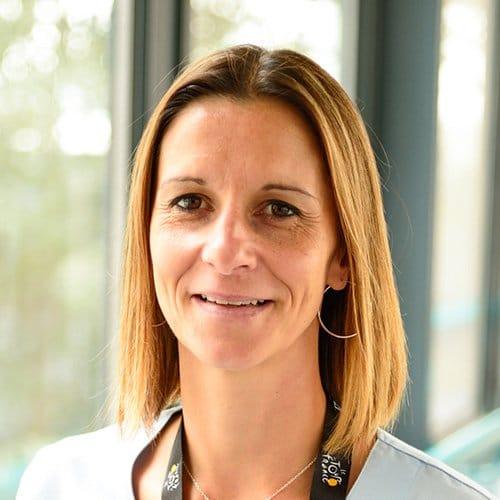 Karine, auxiliaire de puéricultures